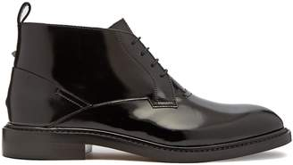 Valentino Patent leather desert boots