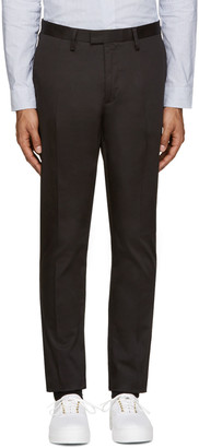 Acne Studios Black Max Trousers $240 thestylecure.com
