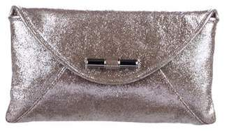 286b9e30689 Jimmy Choo Metallic Envelope Clutch