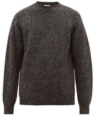 The Row Ezra Camel Blend Sweater - Mens - Dark Grey