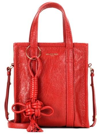 Balenciaga Balenciaga Bazar Shopper Xs Leather Shopping Bag