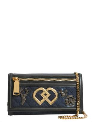 DSQUARED2 Dd Clutch With Chain Crossbody Strap