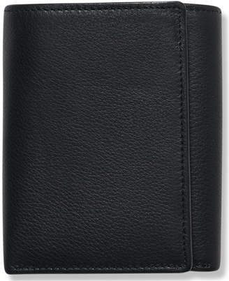 Perry Ellis Portfolio Men's Leather Park Avenue Trifold Wallet