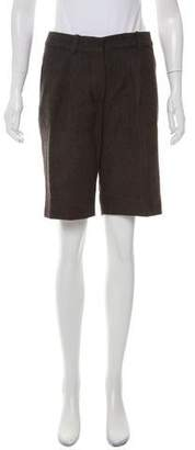 Chloé Tweed Knee-Length Shorts