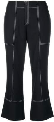 Kenzo denim cropped jeans