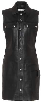 Acne Studios Scala leather dress