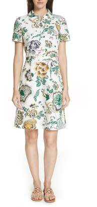 Tory Burch Tilly Floral Shirtdress