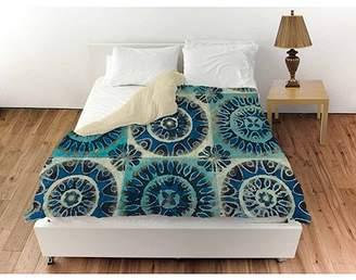 Thumbprintz Floral Tile Suzani Duvet Cover