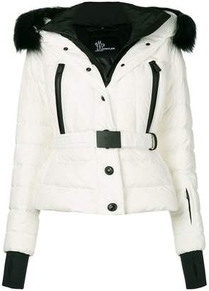 Moncler hooded feather down jacket