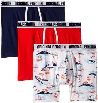 Original Penguin Novelty 3-Pack Boxer Brief - Islander Men's Underwear