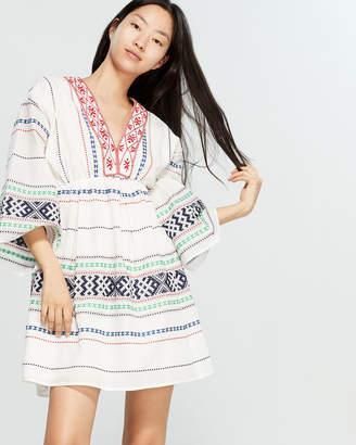 35e4ab4287 Joie Shada Embroidered V-Neck Dress