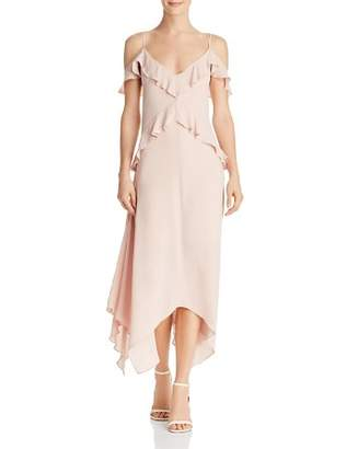BCBGMAXAZRIA Lissa Handkerchief-Hem Slip Dress - 100% Exclusive