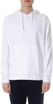 Tommy Hilfiger White Hood Sweatshirt In Cotton With Logo
