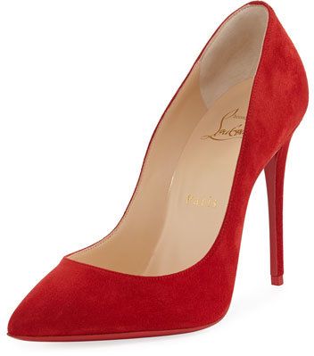 Christian Louboutin Christian Louboutin Pigalle Follies Suede Red Sole Pump