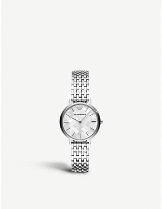 Michael Kors AR11112 stainless steel and Mother of Pearl watch