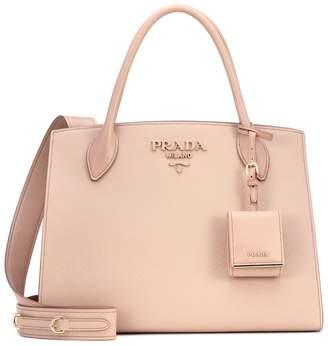 215905be32a5 Prada Monochrome leather shoulder bag