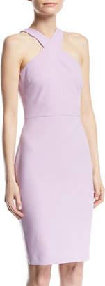 LIKELY Carolyn Halter-Neck Sheath Dress