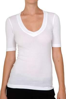 Splendid Short Sleeve V-Neck Top