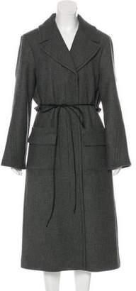 Nina Ricci Virgin Wool Long Coat w/ Tags