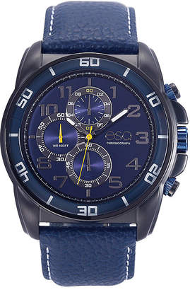 ESQ Mens Blue Strap Watch-37esq021201a