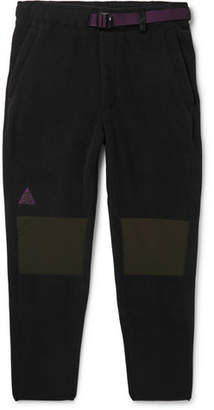 Nike Acg Tapered Panelled Fleece Sweatpants