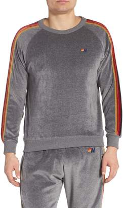 Aviator Nation Classic Velour Raglan Sweatshirt
