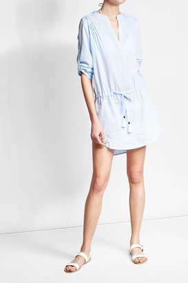 Heidi Klein Cotton Shirt Dress $269 thestylecure.com