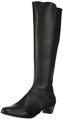 Coclico Women's Seaghan Stacked Kitten Heel Tall Boot