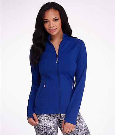 MSP by Miraclesuit Zip Front Jacket