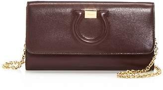 Salvatore Ferragamo Leather Chain Wallet