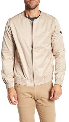 NATIVE YOUTH Daleford Collarless Bomber Jacket