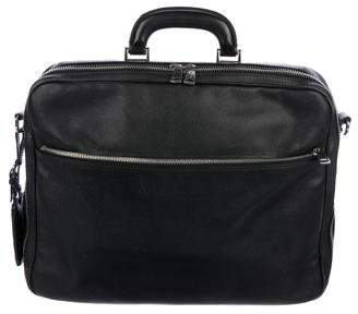 Dolce & Gabbana Leather Zip Briefcase