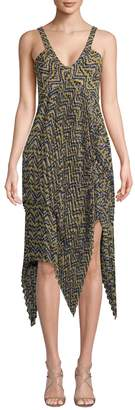 A.L.C. Women's Kendall Printed Handkerchief Dress