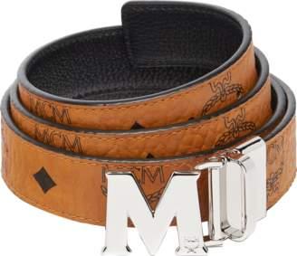 "MCM Color Visetos Reversible Belt 1"""