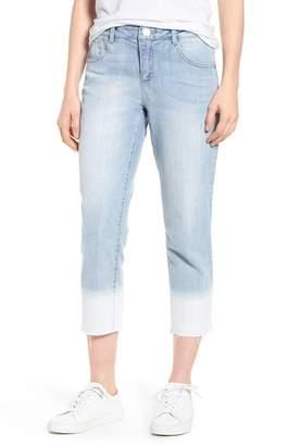 Wit & Wisdom Flex-Ellent Bleached Raw Hem Jeans