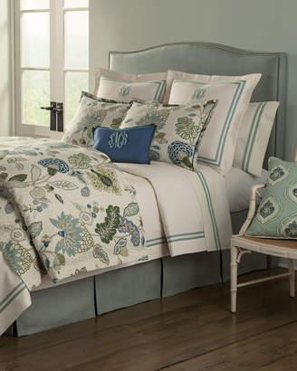 "Legacy 12"" x 16"" Gemma Marine-Blue Pillow, Plain"