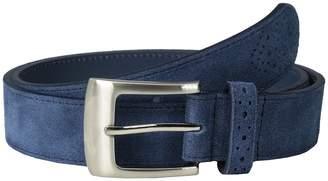 Stacy Adams 32mm Genuine Suede Leather Men's Belts