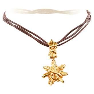 Christian Lacroix Vintage Gold Metal Necklace