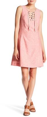 Kensie Linen-Blend Shift Dress $89 thestylecure.com