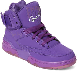 Patrick Ewing Electric Purple Ewing 33 High-Top Basketball Sneakers