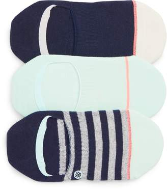 Stance Invisible 3-Pack No-Show Socks