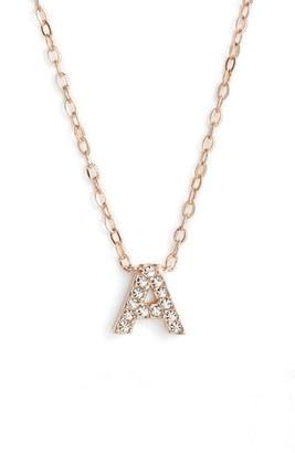 Women's Nadri Initial Pendant Necklace $45 thestylecure.com