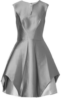 Halston Satin Dress with Silk