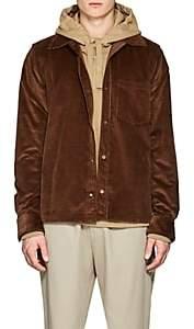 Acne Studios Men's Cotton Corduroy Overshirt-Camel