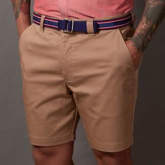 Blade + Blue Khaki Cotton Stretch Twill Shorts