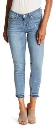 Vintage America Blues Boho Skinny Ankle Jeans