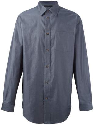Alexander Wang cutaway collar shirt