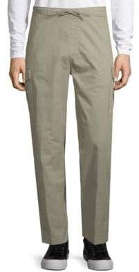 Saks Fifth Avenue Stretch Cotton Drawstring Pants