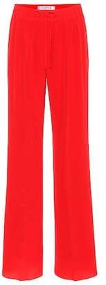 Max Mara Tremiti silk wide-leg pants