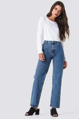 NA-KD Na Kd Front Pleat Jeans